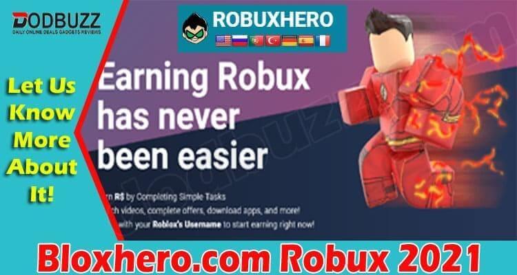 Bloxhero.com Robux 2021.