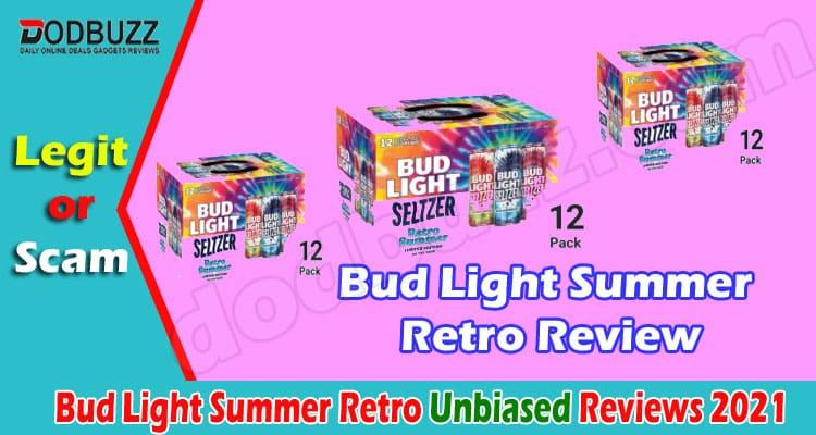 Bud Light Summer Retro Review 2021.
