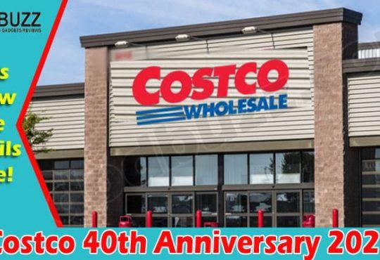 Costco 40th Anniversary 2021