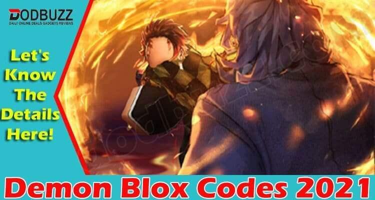 Demon Blox Codes 2021