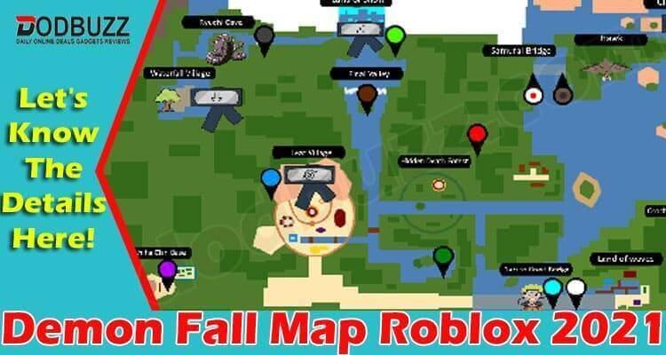 Demon Fall Map Roblox 2021
