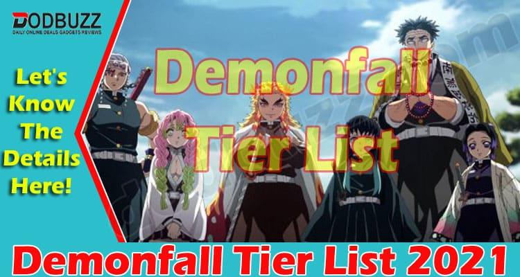 Demonfall Tier List 2021