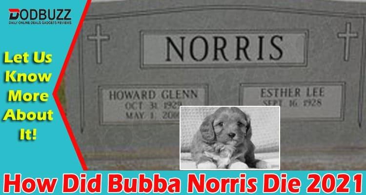 How Did Bubba Norris Die 2021