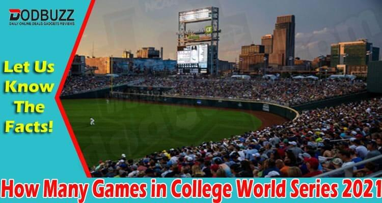 How Many Games in College World Series (July) Read!