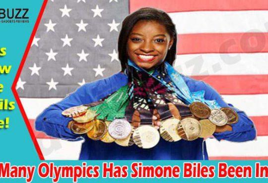 How Many Olympics Has Simone Biles Been In 2021