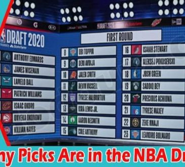How Many Picks Are in the NBA Draft 2021
