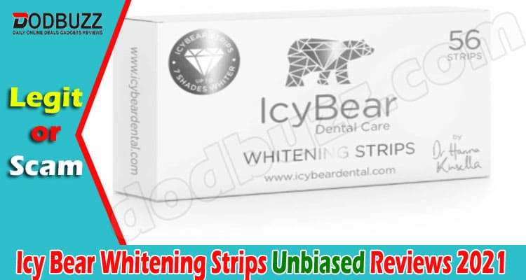 Icy Bear Whitening Strips Reviews 2021.
