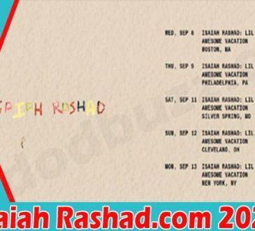 Isaiah Rashad Com 2021