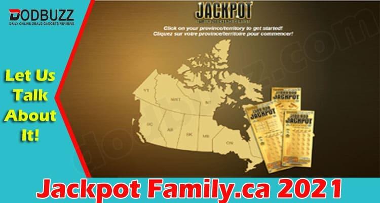 Jackpot Family.ca 2021.