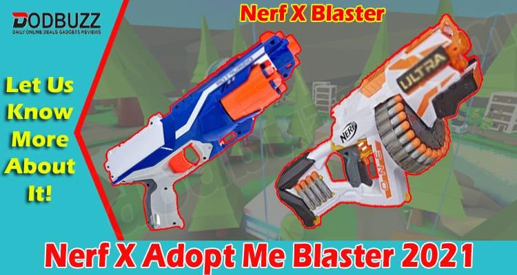 Nerf X Adopt Me Blaster 2021