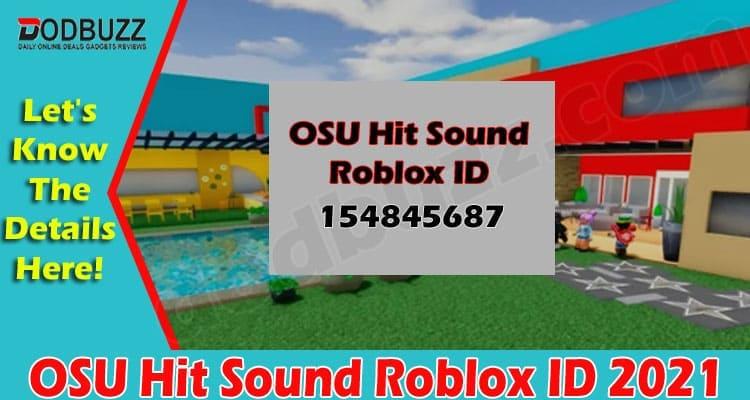 OSU Hit Sound Roblox ID 2021