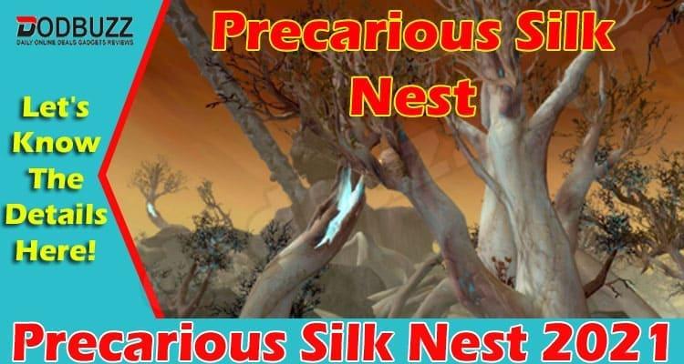 Precarious Silk Nest 2021.