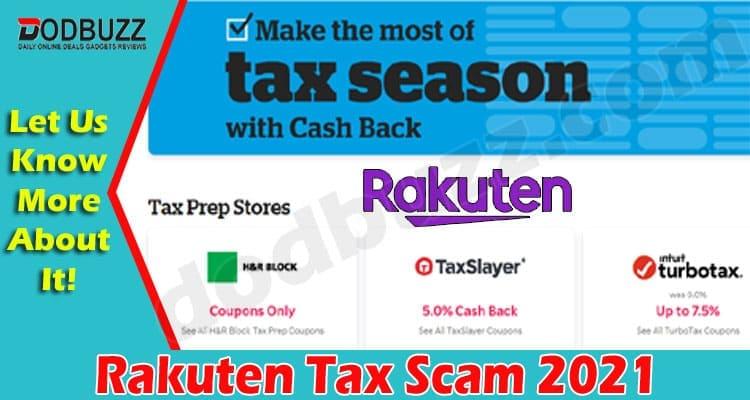 Rakuten Tax Scam 2021.