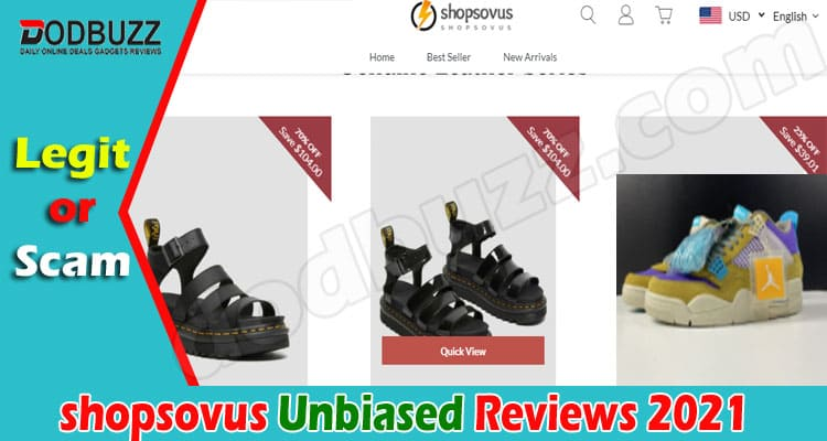 Shopsovus Reviews 2021.