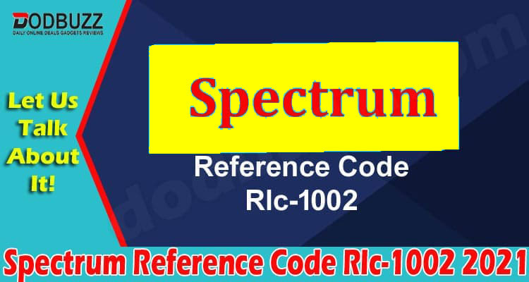 Spectrum Reference Code Rlc-1002 2021