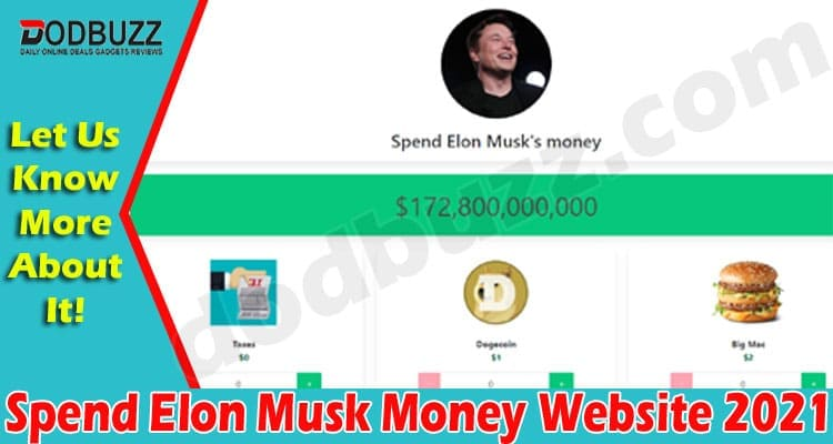Spend Elon Musk Money Website 2021