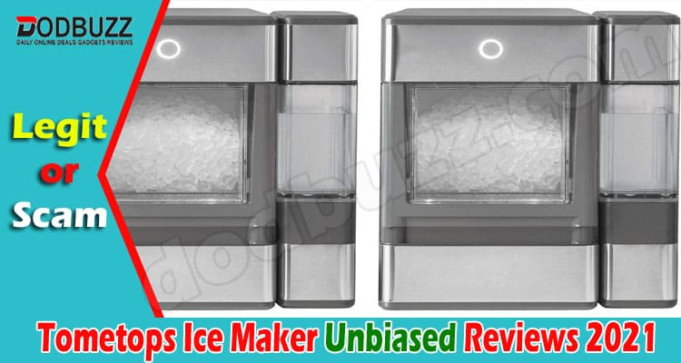 Tometops Ice Maker Reviews (July) Is It Legit Or Scam
