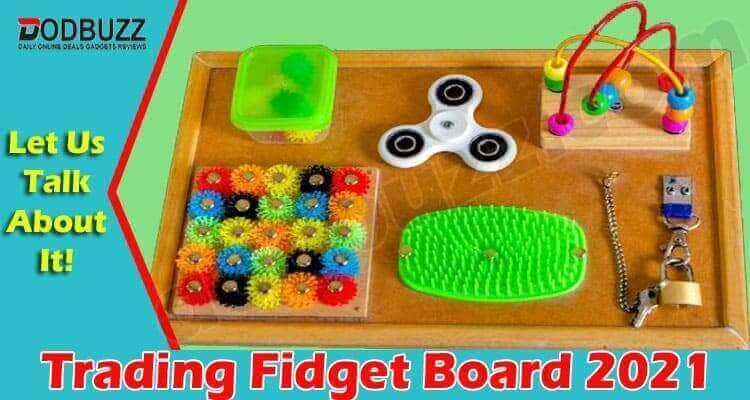 Trading Fidget Board 2021