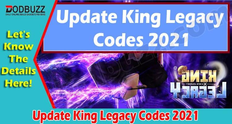 Update King Legacy Codes 2021