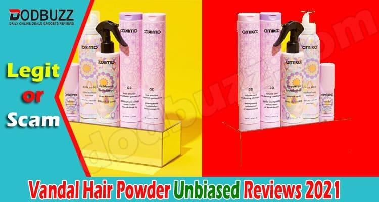 Vandal Hair Powder Review 2021
