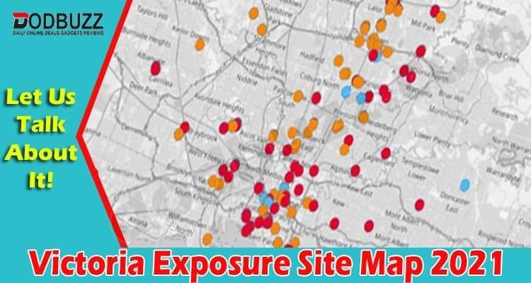 Victoria Exposure Site Map 2021