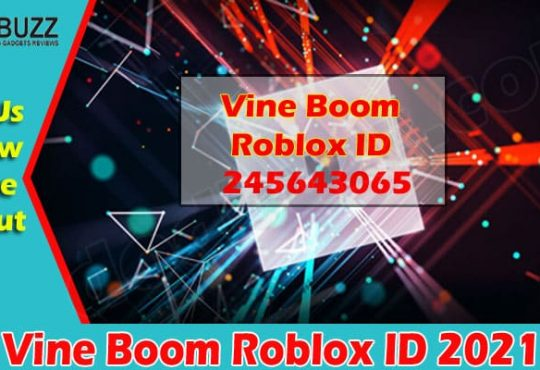 Vine Boom Roblox ID 2021