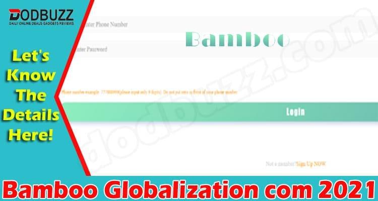 amboo Globalization Com 2021