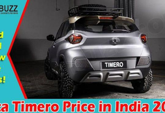 Latest News Tata Timero Price in India