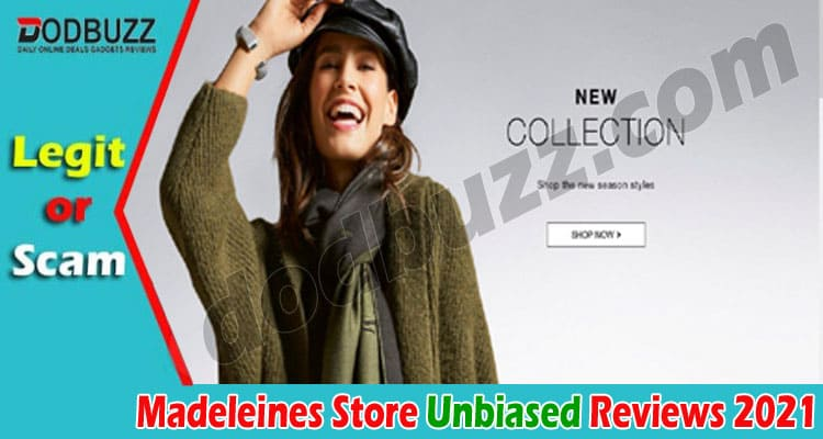 Madeleines Store Reviews (Aug 2021) Is This Site Legit?