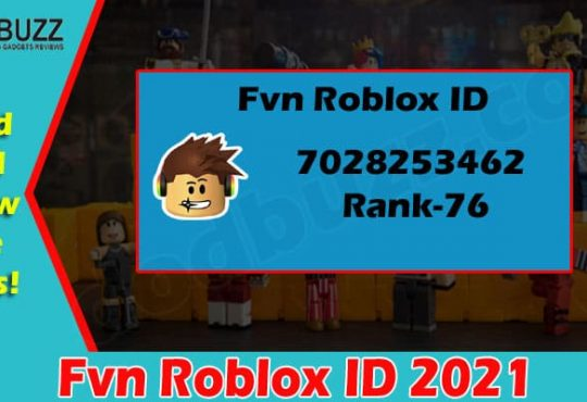 latest News Fvn Roblox ID