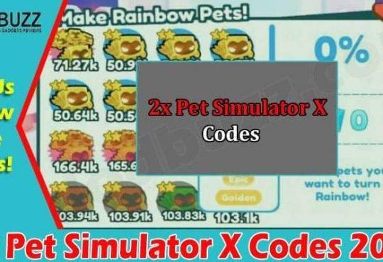 Gaming Tips 2x Pet Simulator X Codes