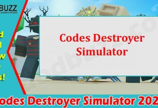 Gaming Tips Codes Destroyer Simulator
