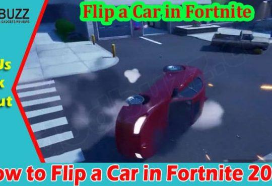 Gaming Tips Flip A Car In Fortnite