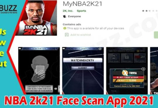 Gaming Tips NBA 2k21 Face Scan App