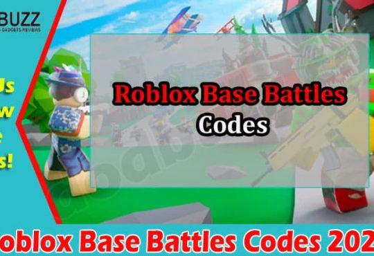 Gaming Tips Roblox Base Battles Codes