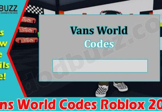Gaming Tips Vans World Codes Roblox