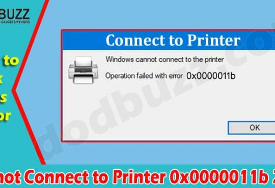 Latest News Cannot Connect To Printer 0x0000011b