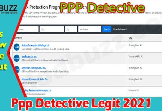 Latest News Ppp Detective