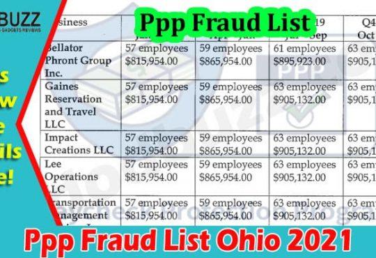 Latest News Ppp Fraud List Ohio