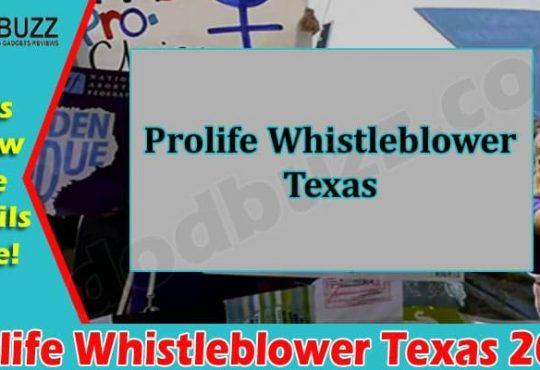 Latest News Prolife Whistleblower Texas