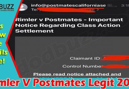 Latest News Rimler V Postmates